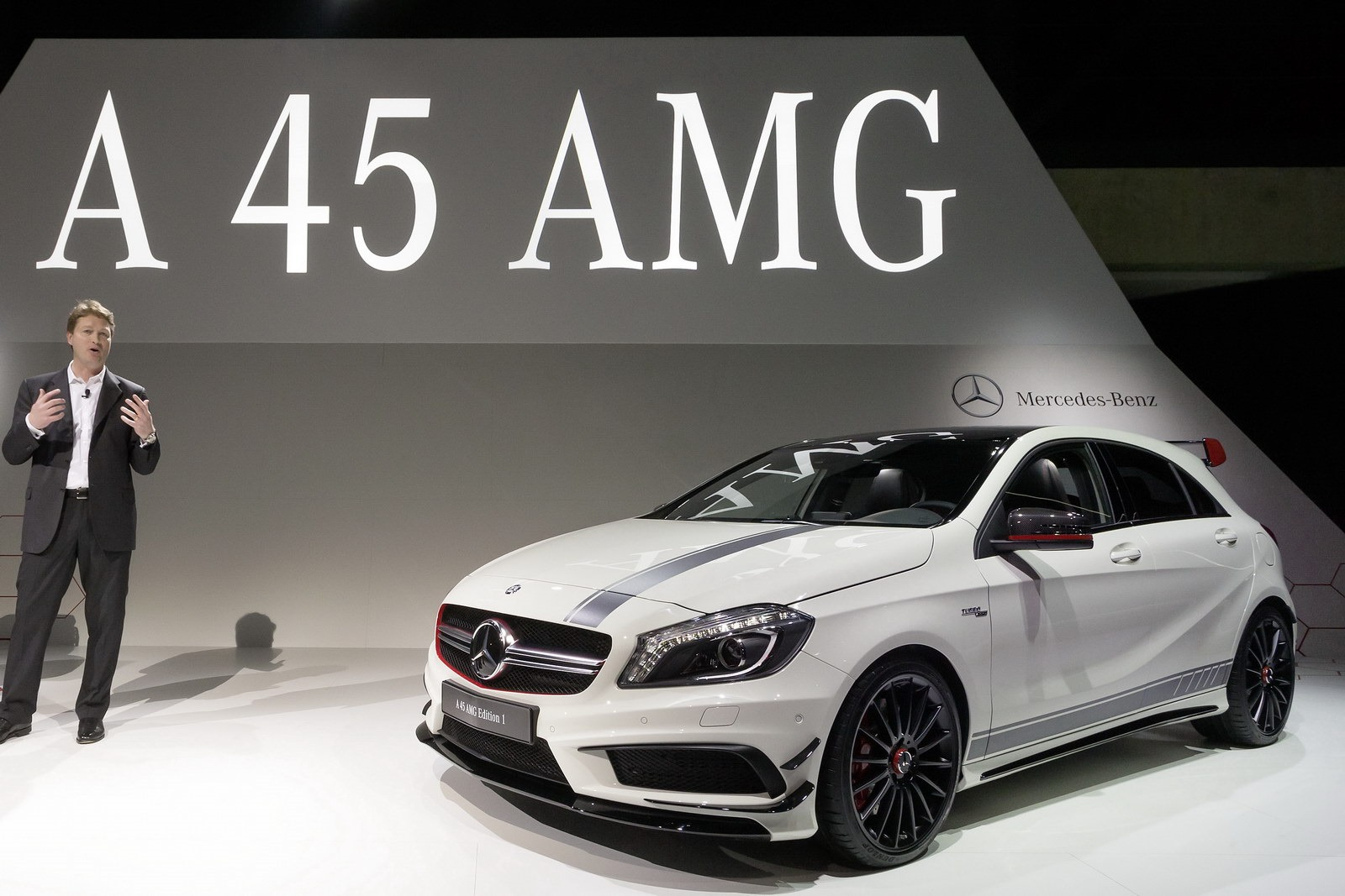 New 355HP Mercedes-Benz A 45 AMG Bows at the Geneva Motor Show